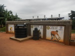 This four-seater institutional latrine, constructed through a partnership with Rotary International and the USAID/Ghana WASH Project, is at Ayi Mensah School in Ga East, Greater Accra.