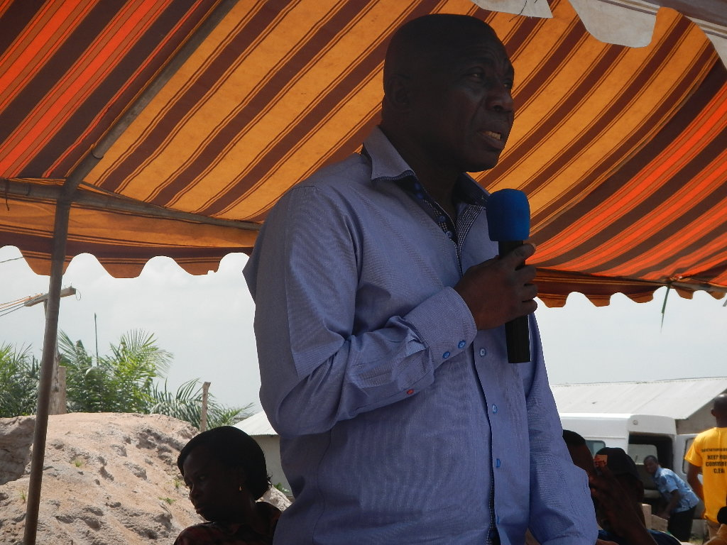 Sam Ewoade, District Chief Executive of Ho West, congratulated the communities on their achievement of attaining ODF.